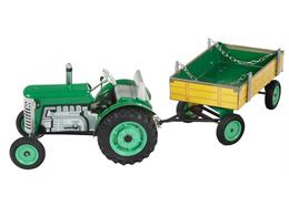 ZETOR Tractor with Trailer grün